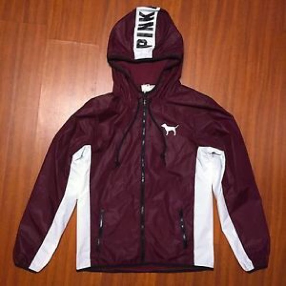11a30dfd9147 ... Maroon windbreaker jacket. M 58252f9c4225be0e51049412