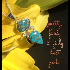 🌟HP🌟Turquoise & Topaz Necklace