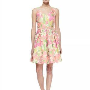 Trina Turk Martha Floral Fit and Flare Dress