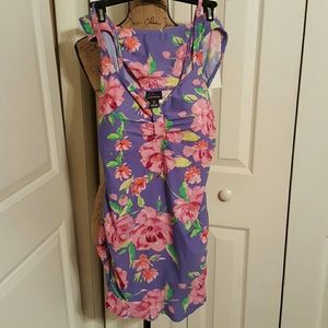 Oh Baby by Motherhood Other - Purple/Pink Maternity Bathing Suit NWOT