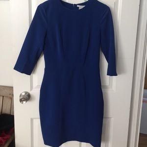 H&M Dresses & Skirts - Small-Blue 3/4 sleeve dress, work/night
