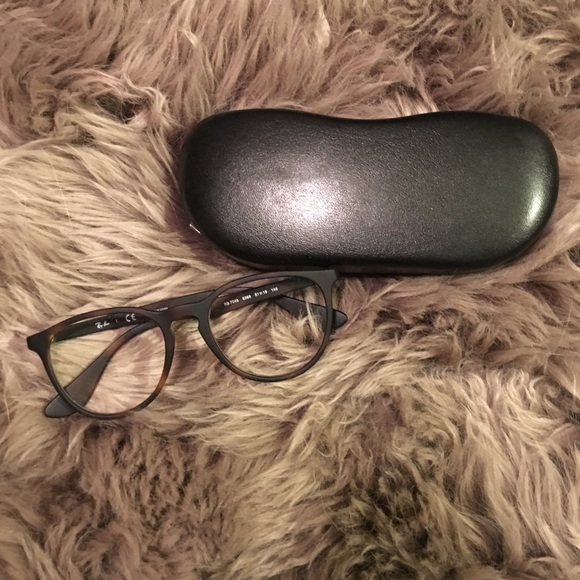 1cff18db458 Authentic Ray-Ban RX7046 matte Havana glasses. M 582545d1b4188e60ce08430a.  Other Accessories ...