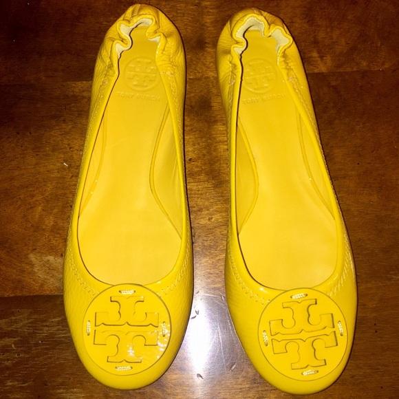 02a649956 inexpensive tory burch yellow chelsea ballet flats 06886 22912  coupon code  for tory burch yellow reva flats 4cd4e 2d680