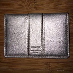 Handbags - Coach card case