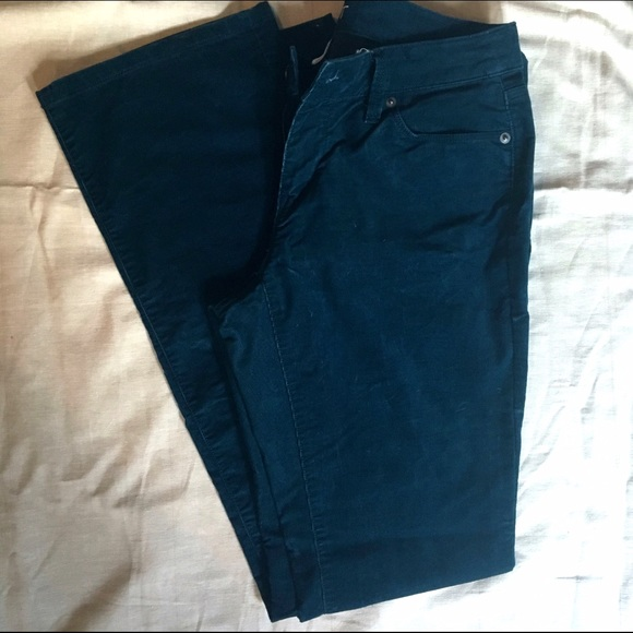 70% off LOFT Pants - LOFT Teal Corduroy Pants from Jenna's closet ...