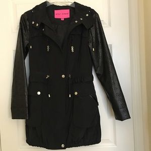 Jackets & Blazers - Betsey Johnson Anorak jacket