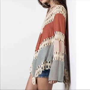 Tops - Crochet shirt