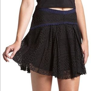 Free People Dresses & Skirts - Free People 'Apple of the Eye' Lace mini skirt