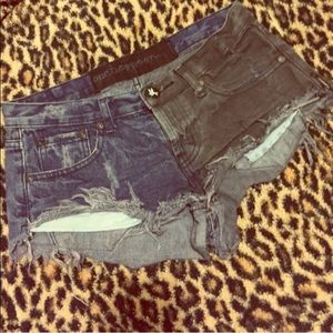 One Teaspoon Pants - One-Teaspoon Denim shorts