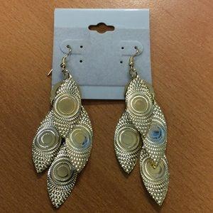 Jewelry - Gold Fun Dangle Earrings