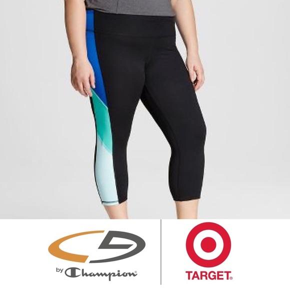 45d26f63e877 Champion Pants - C9 Champion® Performance Capri Blue Color Block