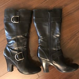 American Eagle Outfitters Shoes - American Eagle Sz 7 1/2 black boots calf high