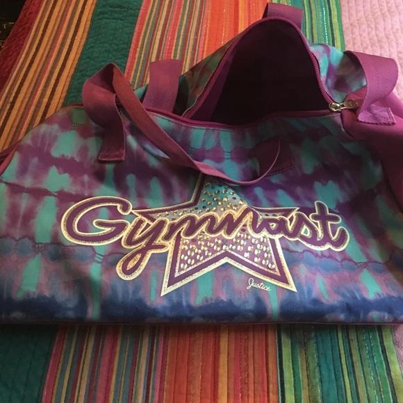 Justice Handbags - Justice Gymnastics Duffle Bag 380ef1ad8bad7
