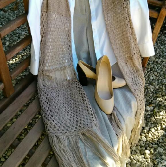 Alyx Jackets & Coats - Long Retro Fringe Vest Plus Size