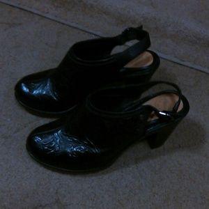 Nurture by Lamaze Shoes - Nurture leather 4in.wider heels