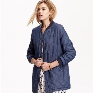 Old Navy - Old navy quilted bomber jacket from Renee's closet on ... : navy quilted bomber jacket - Adamdwight.com