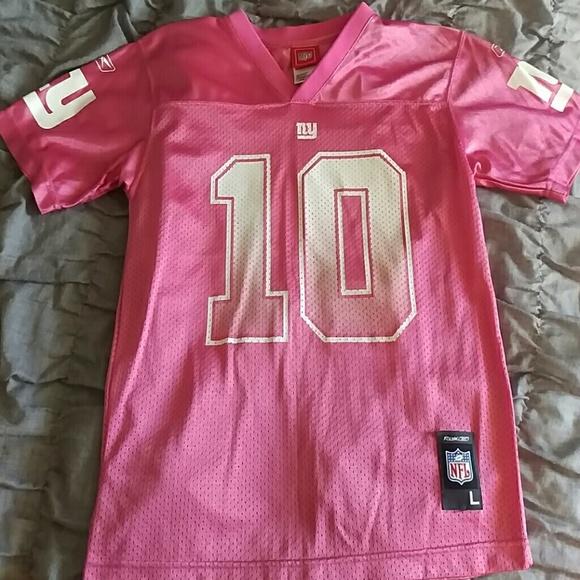 eli manning pink jersey