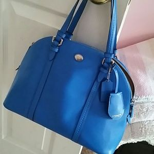 Coach Peyton Cora Domed Satchel purse