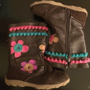 Brown Stride Rite boots