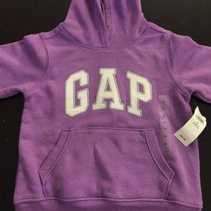 NWT purple GAP sweatshirt
