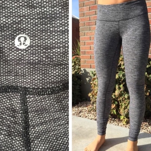 fd4f167031 lululemon athletica Pants | Lululemon Diamond Jacquard Leggings ...