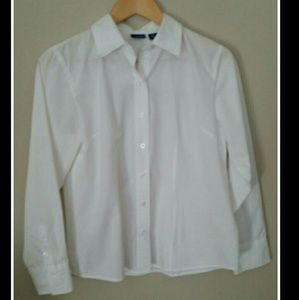 Limited Edition Tops - Crisp White Blouse