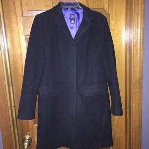 62% off GAP Jackets & Blazers - Gap women's grey wool peacoat from ...