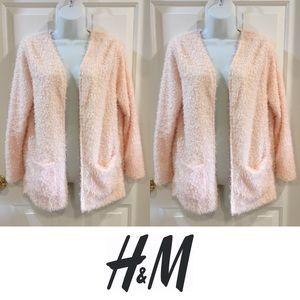 H&M Sweaters - 🍍CLEARANCE🍍 H&M Blush Blush Pink Cozy Cardigan