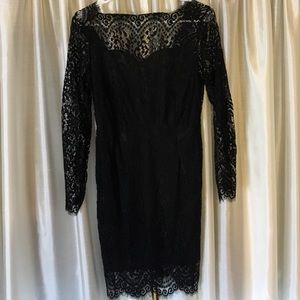 Dresses & Skirts - Little black lace dress