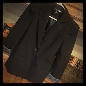 Forever 21 black blazer.
