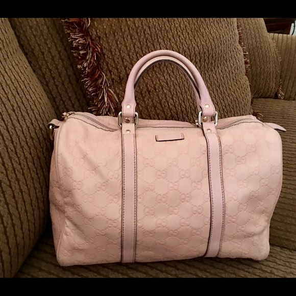 059fe1f10d53 Gucci Handbags - Gucci Pink Guccissima Joy Boston Tote