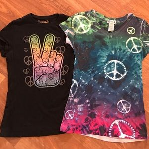 Tops - ✌🏼️🌻Peace Tee Set
