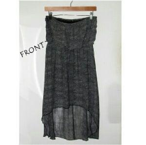 Dresses & Skirts - Grey Sleeveless Maxi Dress - NEW - medium to large