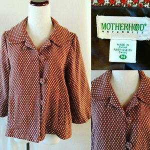 Motherhood Maternity Jackets & Blazers - Motherhood Maternity Swing Autumn Jacket. Medium