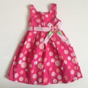 Sugah & Honey Other - {Sugah & Honey} Pink Polka Dot Dress