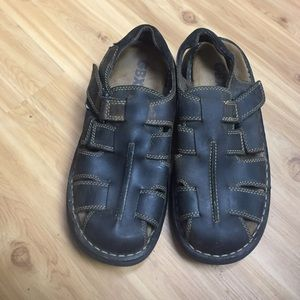 GBX Other - GBX men's leather sandals. Brown. Worn only once.