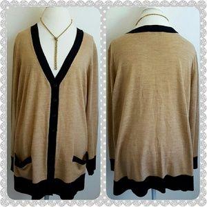 Sejour Sweaters - Sejour Cardigan Sweater  3X