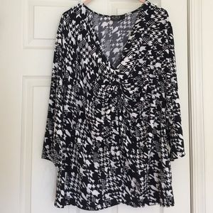 Igigi Tops - NWOT slinky top with 3/4 sleeves from Igigi (plus)