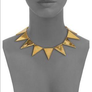 eddie borgo Jewelry - Eddie Borgo Gold Triangle Collar Necklace
