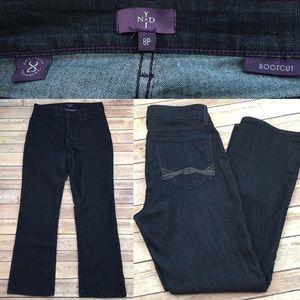 NYDJ Denim - 🌾Size 8P Petite NYDJ Bootcut Jeans Beaded Pockets