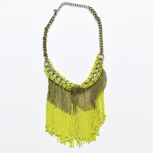 Jewelry - Chain Neon Statement Necklace