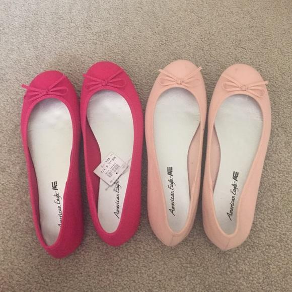 light pink flats payless