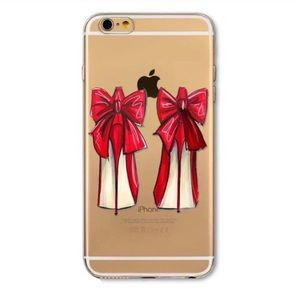 """Christian Louboutin Accessories - Iphone 7 7 Plus Shoe Obsession"""" Soft Case"""