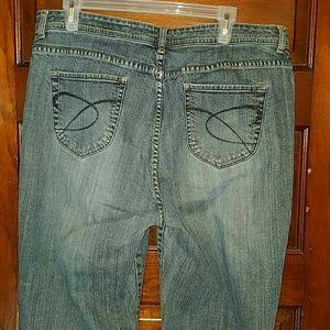 Chico's Denim - Womens Chico's Platinum Denim Jeans 3 Bootcut