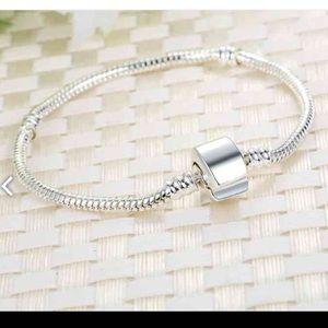 Jewelry - Snake Chain European Charm Bead Pandora Bracelet