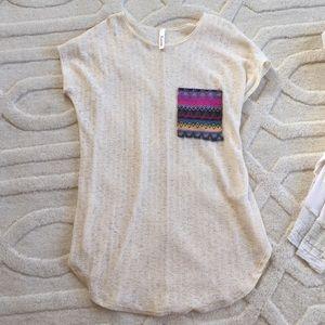 🆕Rachel Kata Long Tunic Pocket Blouse