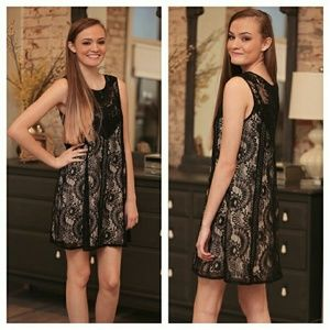 Infinity Raine Dresses & Skirts - NWT GORGEOUS LACE DRESS