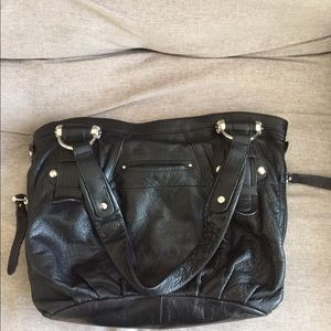 392ebeb2f7e9 b. makowsky Bags - B. Makowsky black leather purse