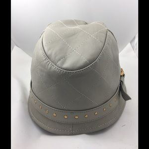 Authentic Burberry Leather Hat!