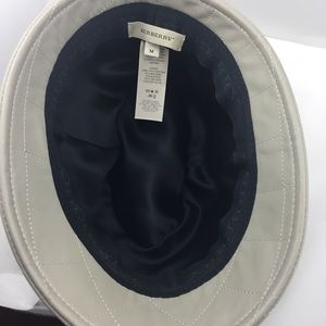 Burberry Accessories - Authentic Burberry Leather Hat! e0a63ffaace